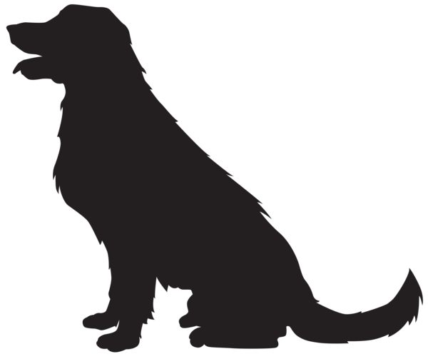 vector stock Dog Silhouette PNG Transparent Clip Art Image
