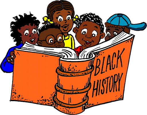 picture royalty free library Black history month free clipart. Lofty idea books for