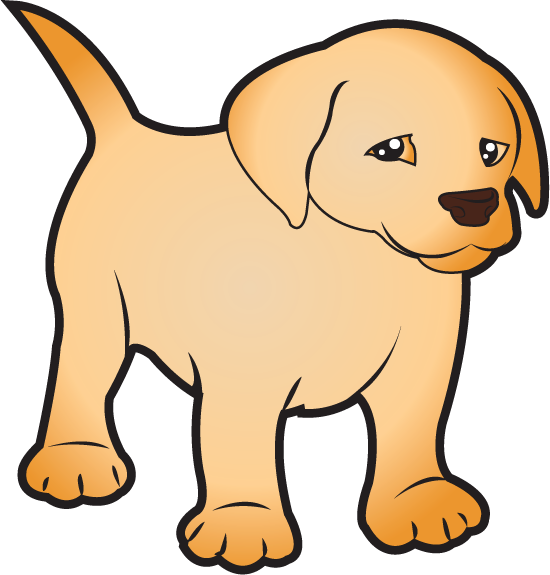 png freeuse stock Lab Puppy Clipart