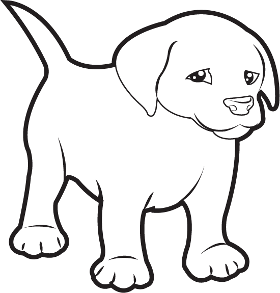 picture royalty free download Lab puppy clipart. Clipartfort animals pets labrador