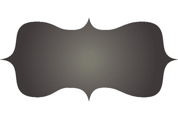 clip transparent library Chalkboard retro free clip. Black label clipart