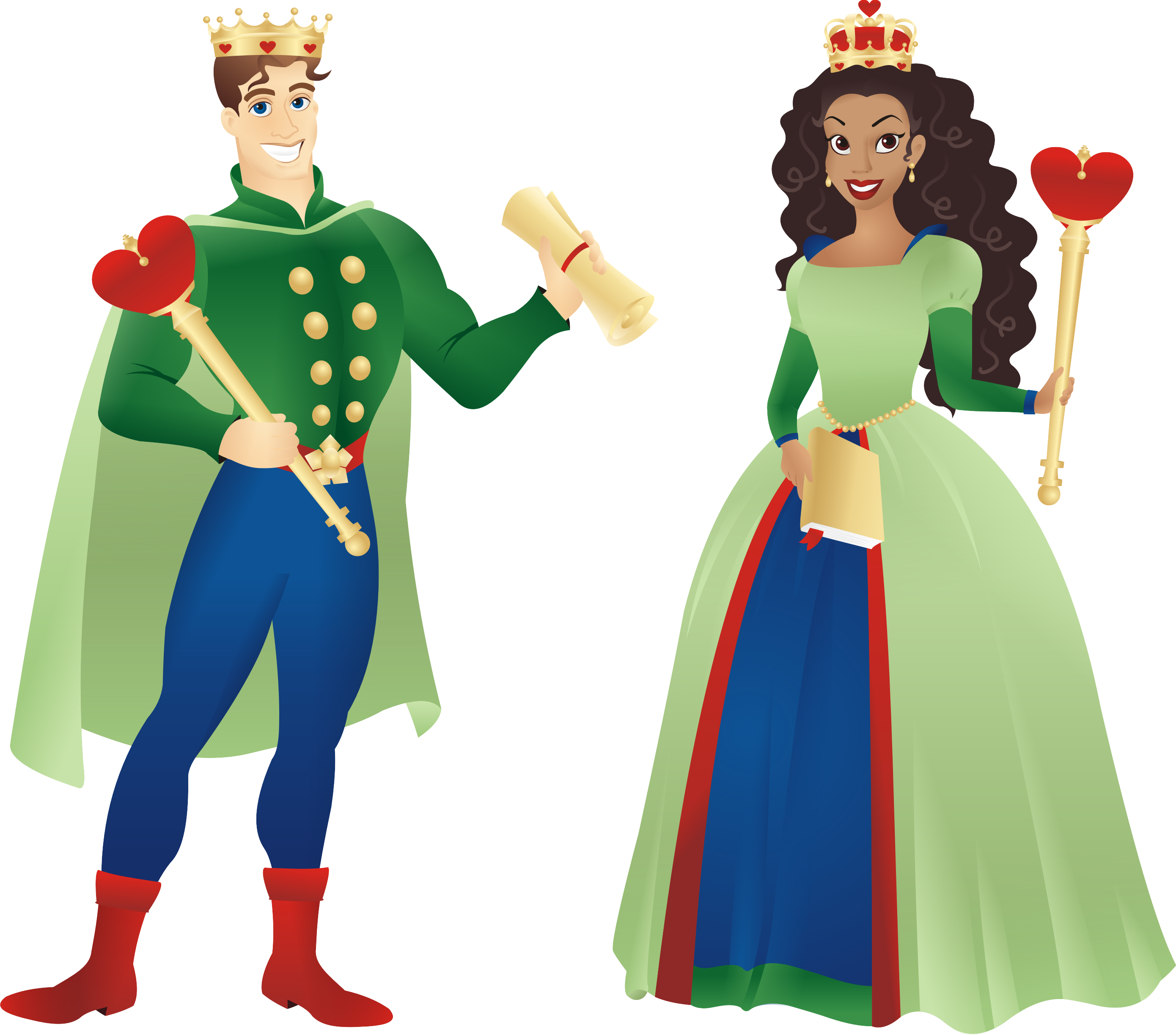 clip library library Free cliparts black download. King and queen clipart