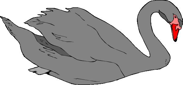 vector transparent download Black Swan Clip Art at Clker