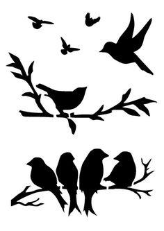 vector royalty free download  best black bird. Blackbird drawing stencil