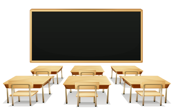 jpg School classroom with and. Blackboard clipart.