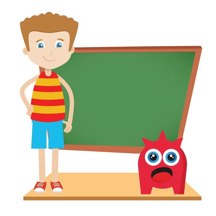 vector free library Blackboard clipart language class.