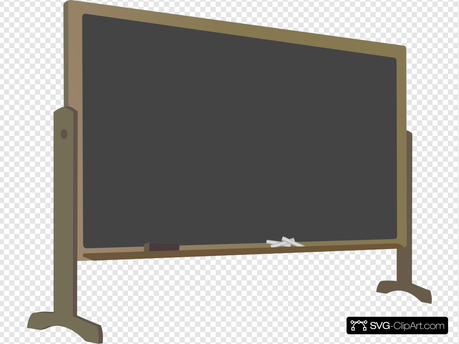 graphic free library With stand clip art. Blackboard clipart svg