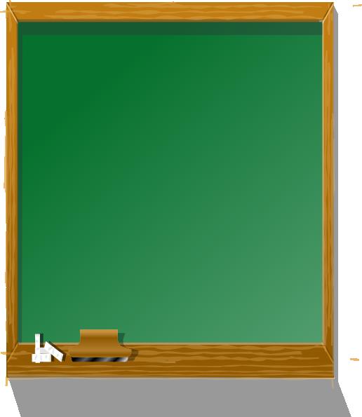 clip stock Chalkboard tall clip art. Blackboard clipart svg