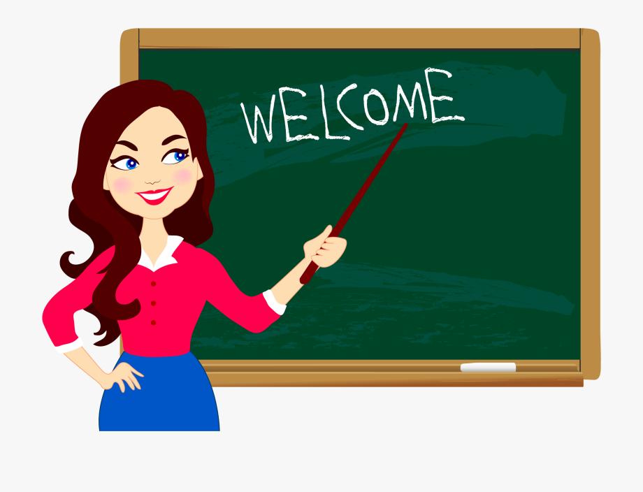 jpg royalty free Chalkboard png blackboard with. Writer clipart teacher.