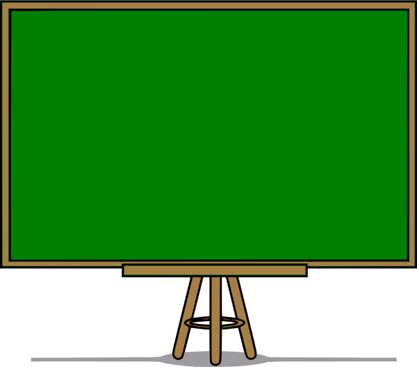 banner transparent stock Blackboard Clipart greenboard