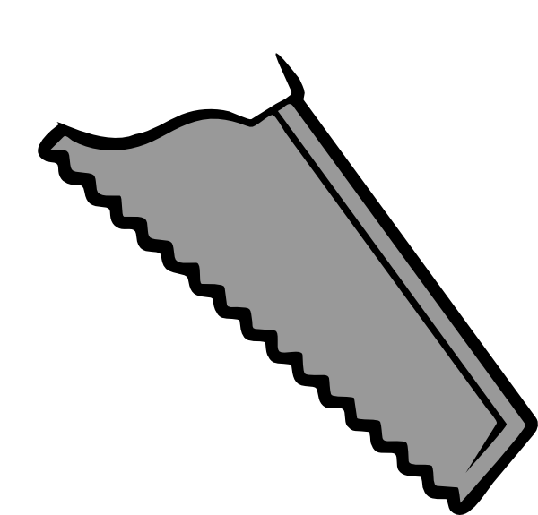 graphic stock Blade clipart. Plain saw clip art