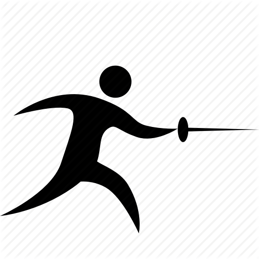 clipart royalty free stock Fencing free on dumielauxepices. Blade clipart.