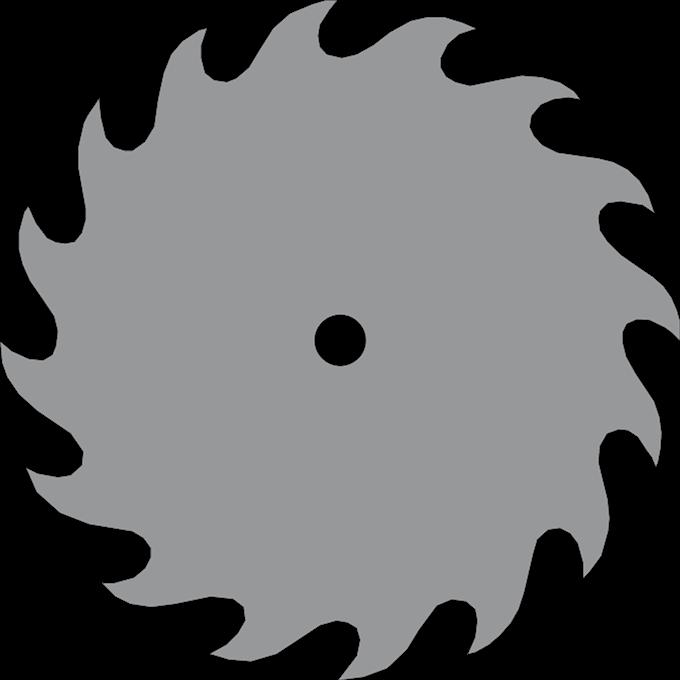 banner free stock Circular saw blade clipart. Sawblade vector transparent