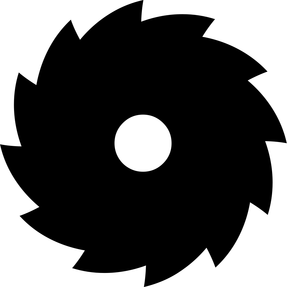 picture freeuse stock Blade clipart table saw blade. Svg png icon free.