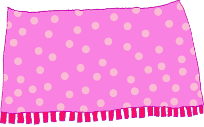banner library library Pink . Blanket clipart.