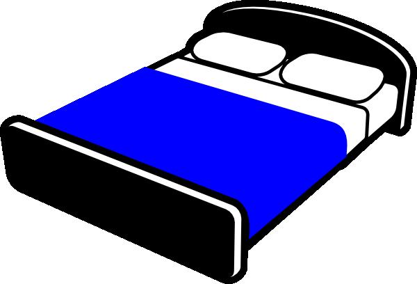 banner Bed clip art at. Pillow clipart mattress