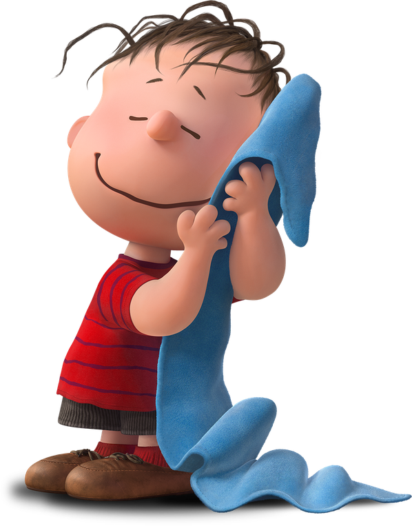 vector black and white library Image png peanuts wiki. Blanket clipart linus.