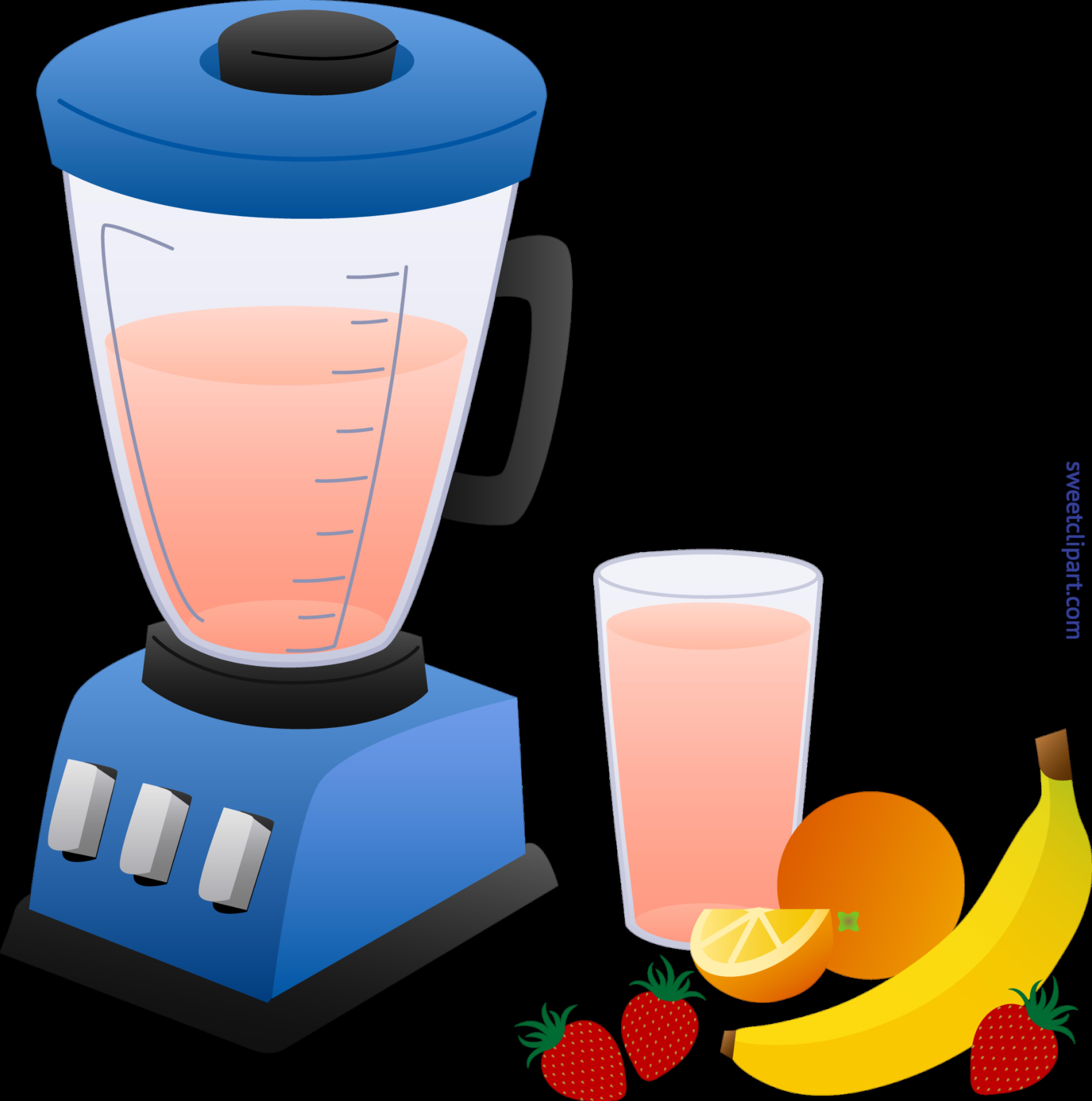 clipart transparent download And fruit smoothie clip. Blender clipart