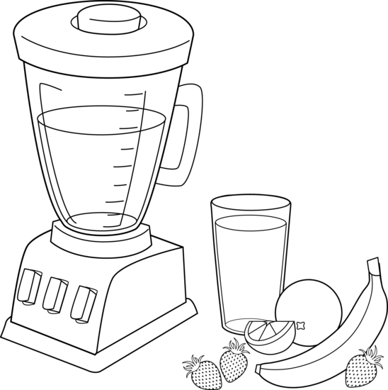 svg freeuse library Smoothie Drawing at GetDrawings