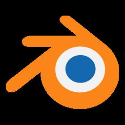 vector free library Blender transparent software. Icon myiconfinder.