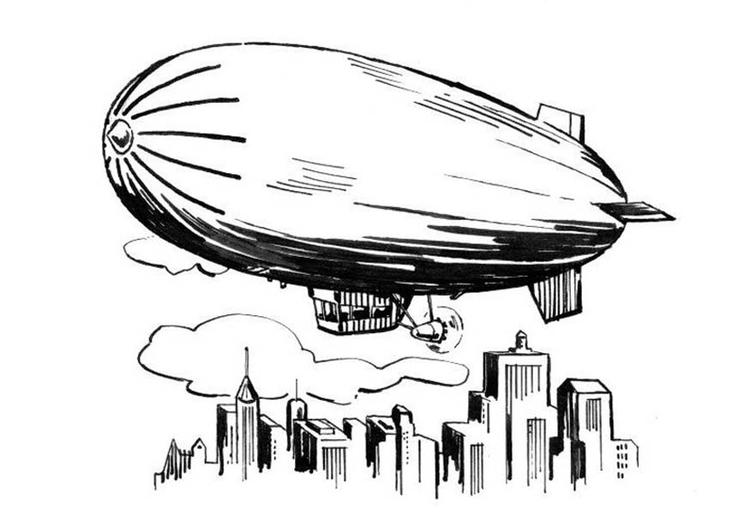 banner transparent download Blimp drawing. At paintingvalley com explore