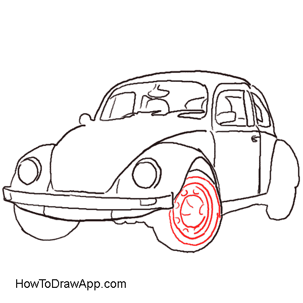 image stock Old Fashioned Car Drawing at GetDrawings