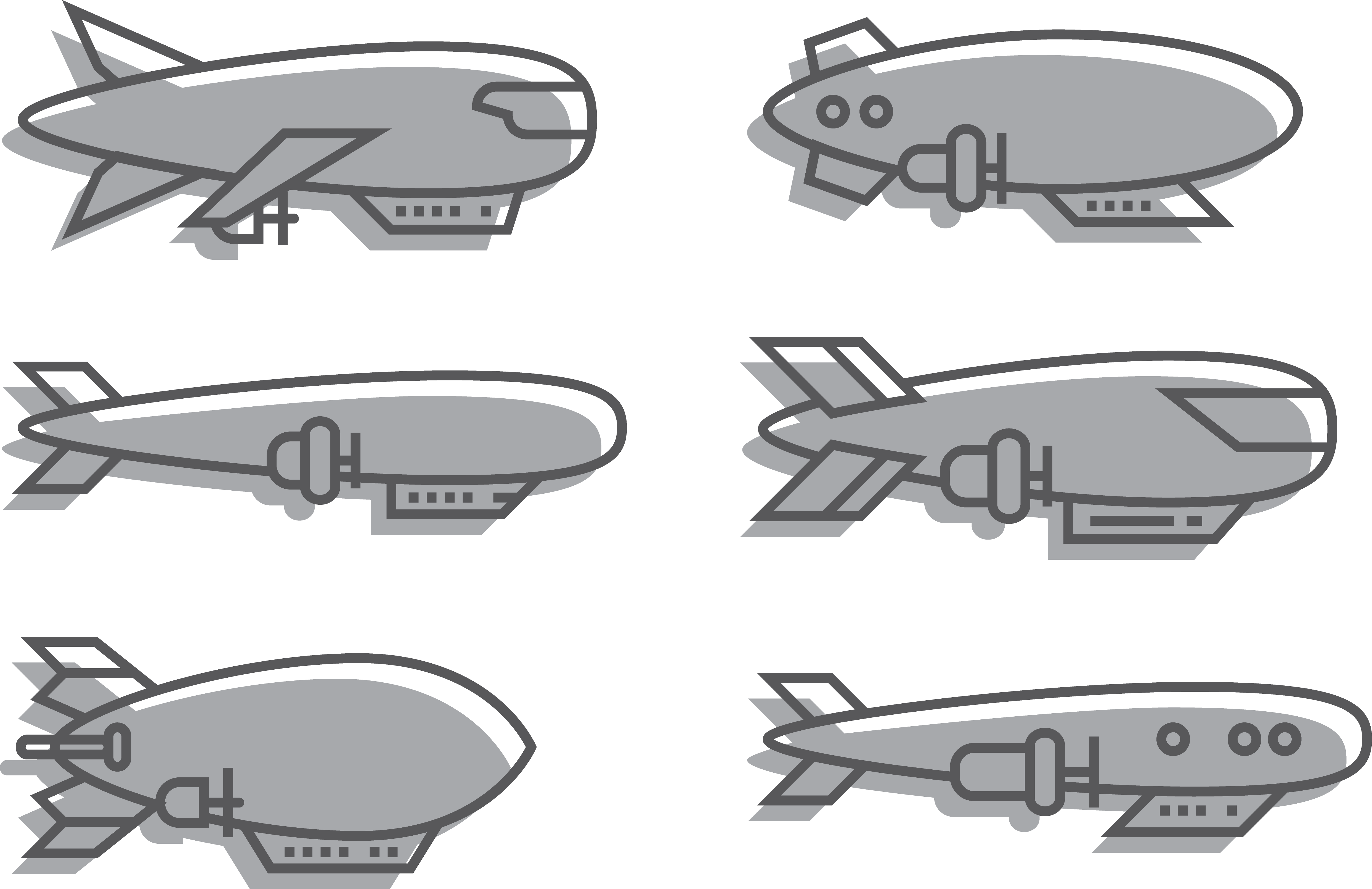 jpg transparent library Blimp drawing.  airship semi rigid