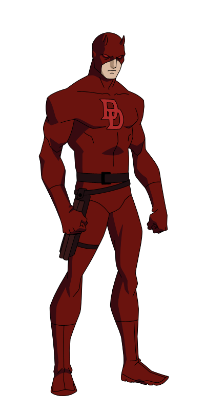 clipart black and white library Blindfold drawing daredevil. By spiedyfan on deviantart