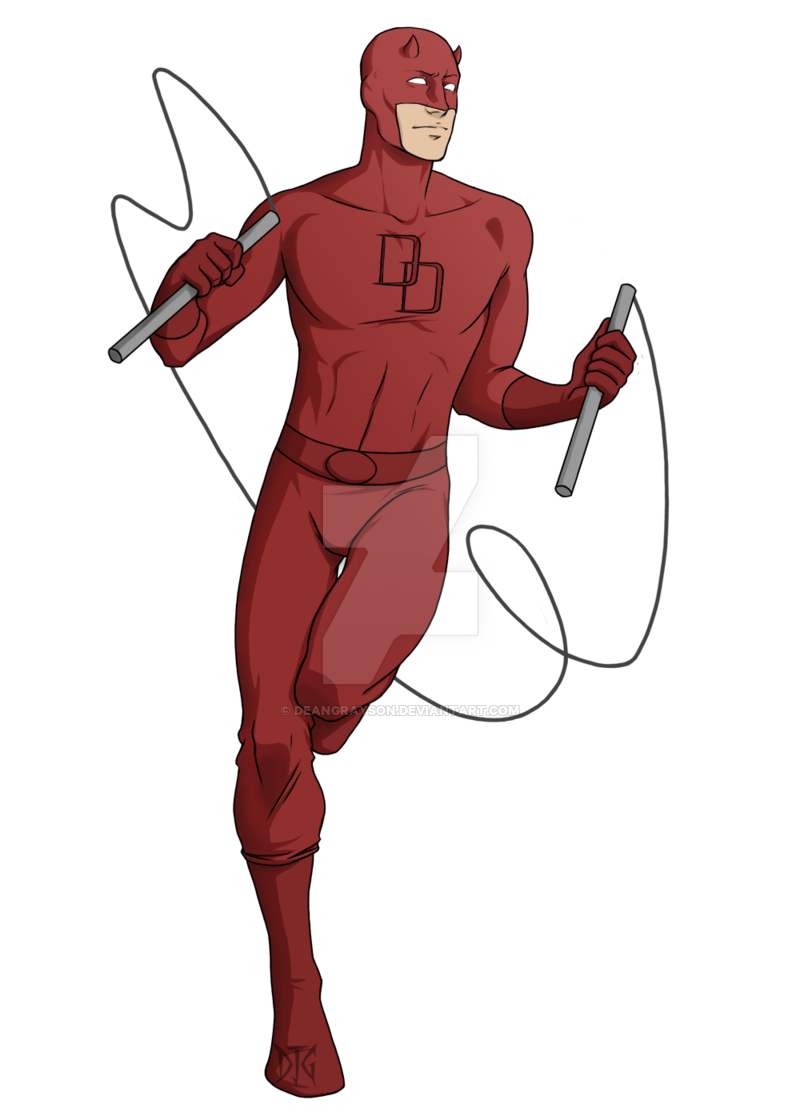 graphic library Blindfold drawing daredevil. Commission by deangrayson on