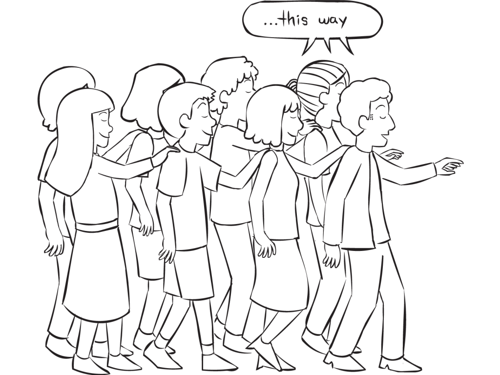 clipart black and white Drawing perspectives person. Group compass walk powerful