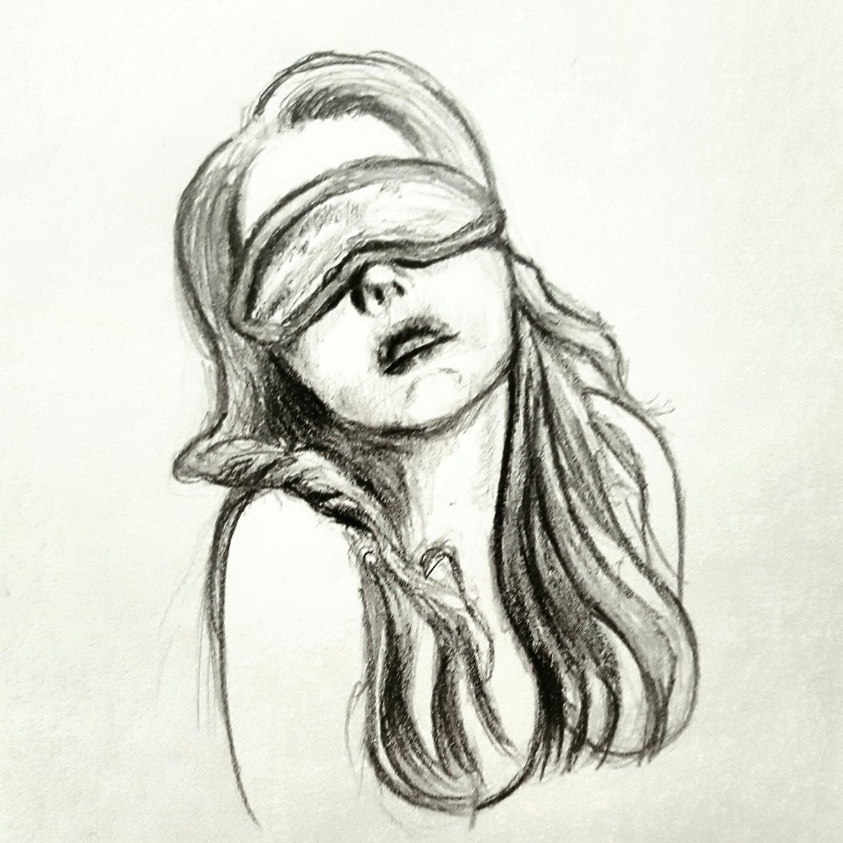 free library Blindfold drawing tied. Sinful arts p twitter