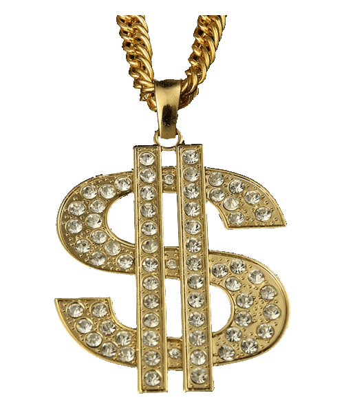 svg library download Bling transparent. Thug life dollar sign