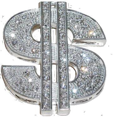 jpg library  sign png for. Bling transparent dollar