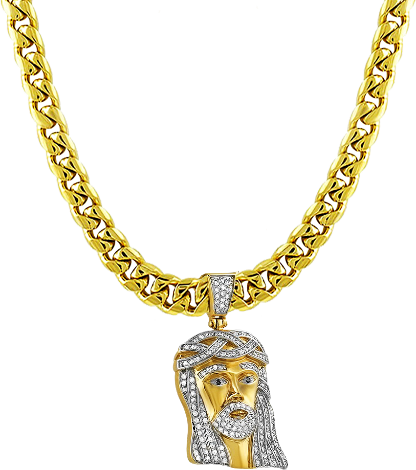 vector free stock Bling transparent gold. Necklace chain jewellery pendant