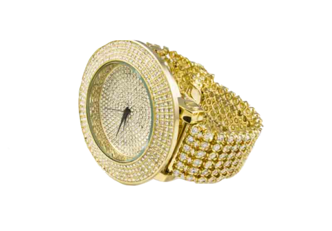 graphic free Bling transparent iced out. Ice master row watch