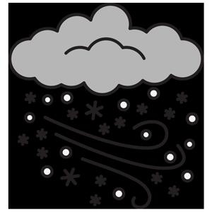 transparent Weather nature environment esl. Blizzard clipart