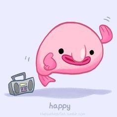 svg library download Blobfish drawing drawn.