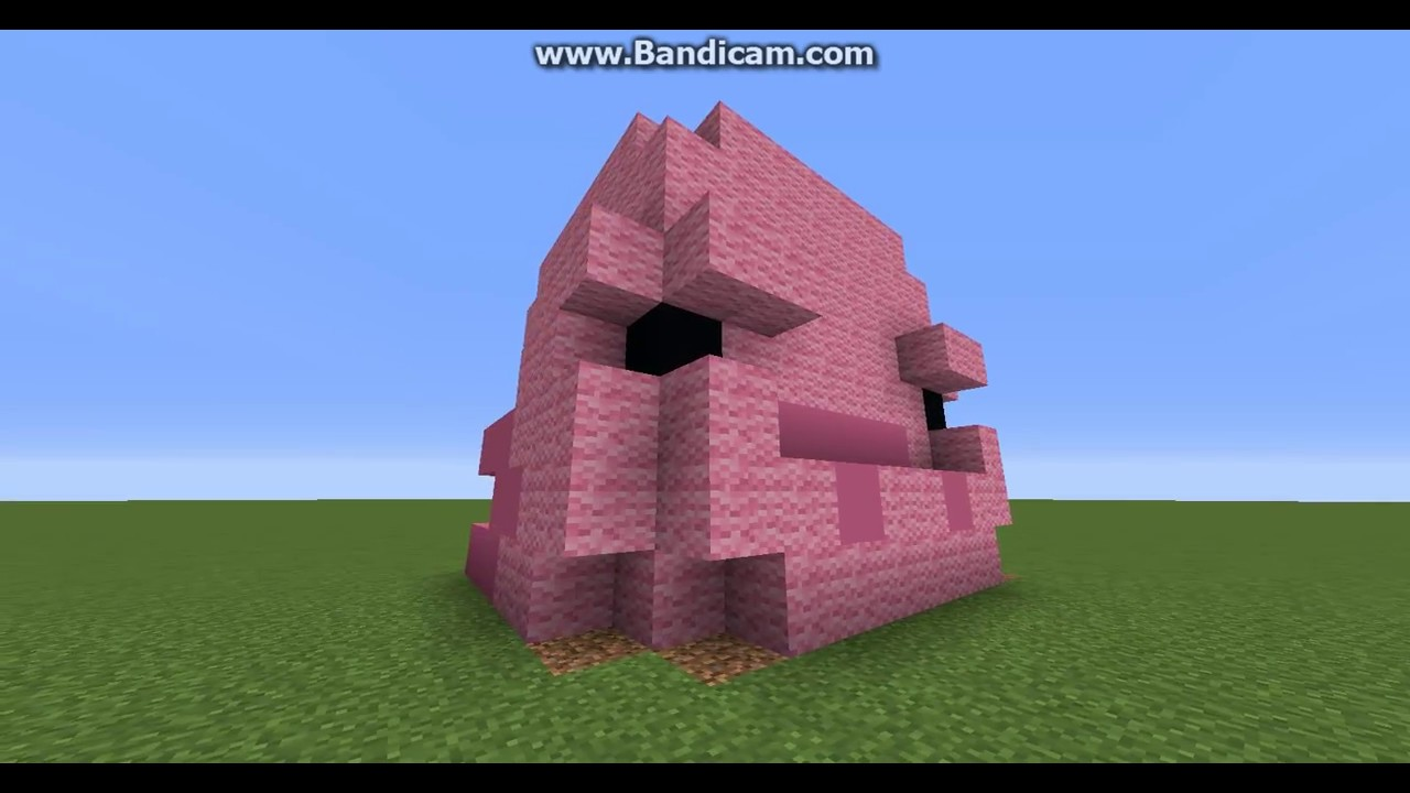 clip library library How to build a. Blobfish drawing minecraft