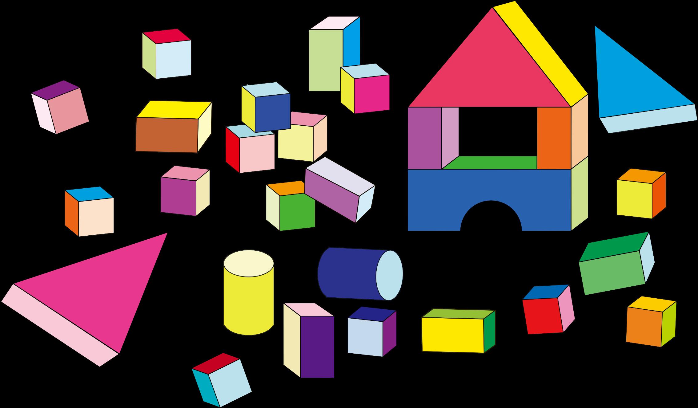 clip art transparent Building toys big image. Block clipart.