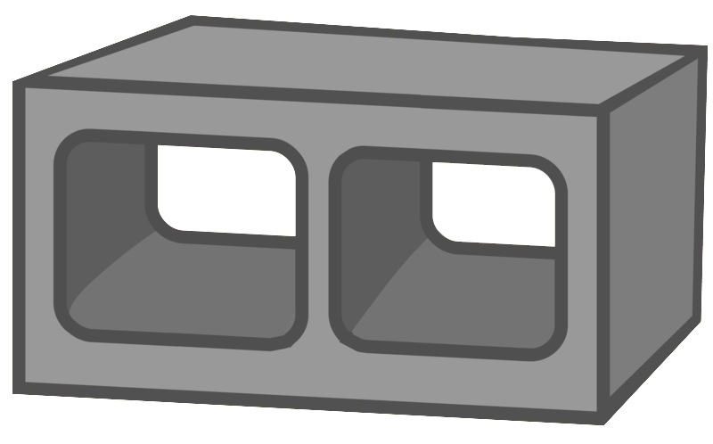 svg library Block clipart cinder block.  collection of high