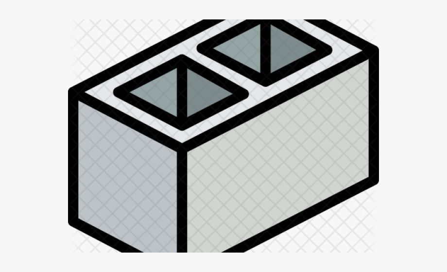 clipart library library Block clipart cinder block. Concrete brick free
