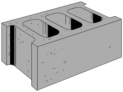 clip art black and white  collection of high. Block clipart cinder block
