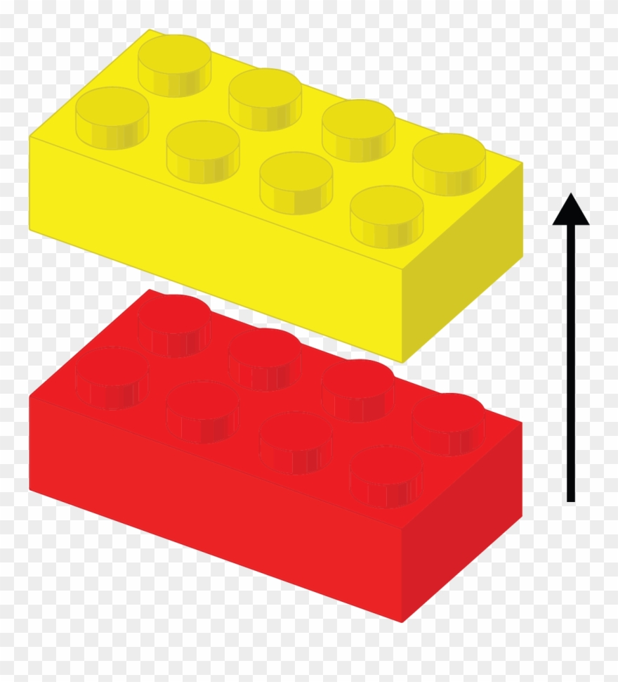 jpg free Separate the yellow and. Block clipart plastic material