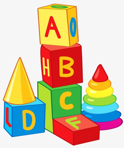 png freeuse library Block clipart toy game. Abc blocks building p
