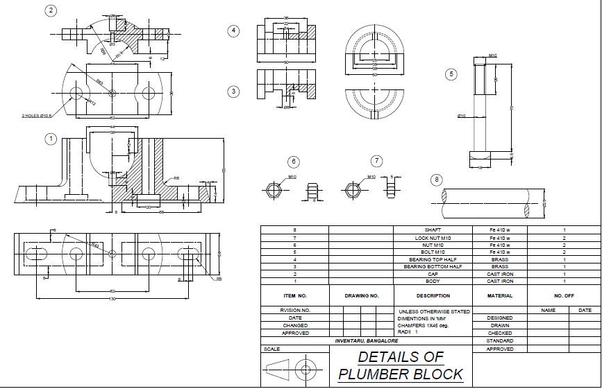 svg royalty free stock Plummer d cad model. Block drawing