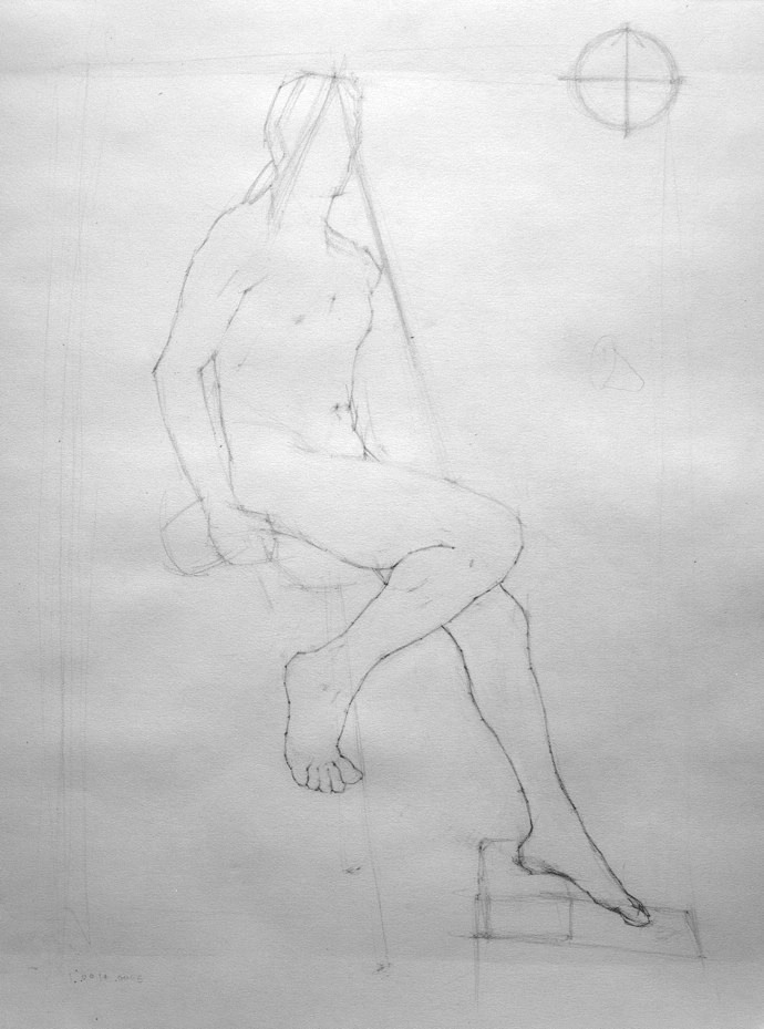 graphic free download The in ryder studio. Block drawing classical figure