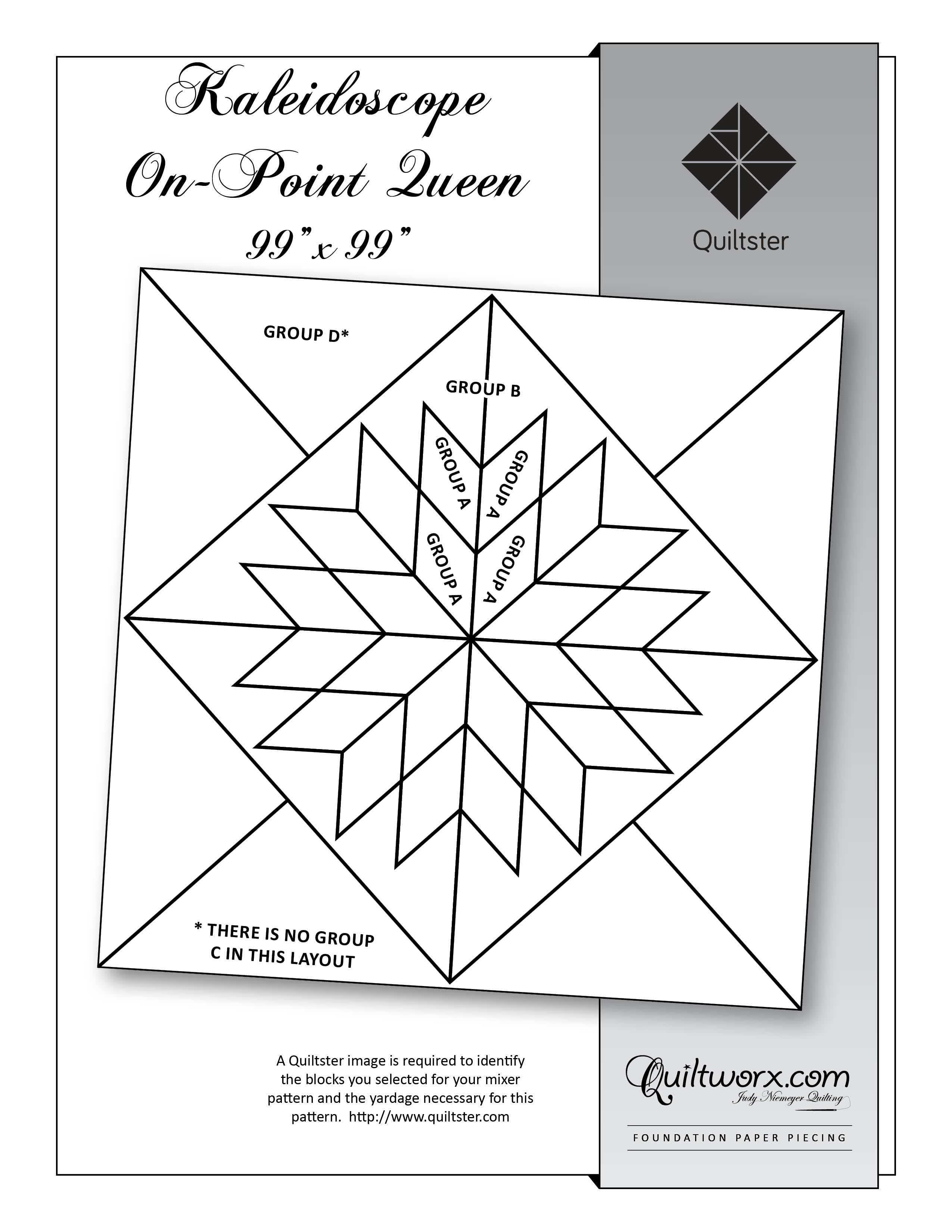 png download Quiltster quiltworx pattern designer. Block drawing kaleidoscope design