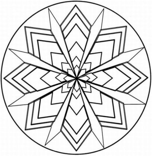 vector black and white library At paintingvalley com explore. Block drawing kaleidoscope design