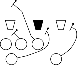 jpg freeuse Beating a strong side. Block drawing offensive