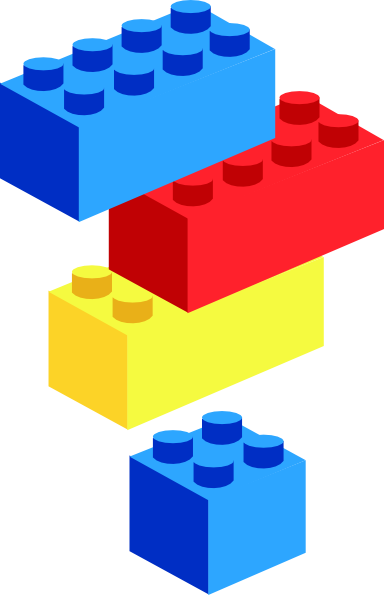 royalty free library Tower lego free for. Blocks clipart.